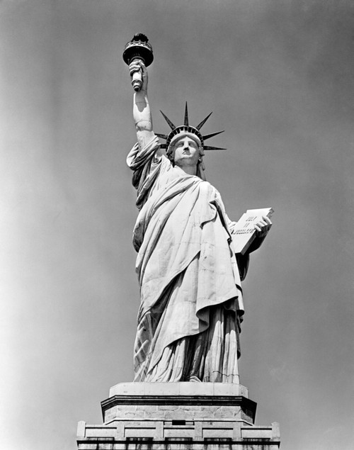 1930s Statue Of Liberty Ny Harbor Ellis Island National Monument 1886 Poster Print By Vintage Collection (22 X 28) - Item # PPI178857LARGE