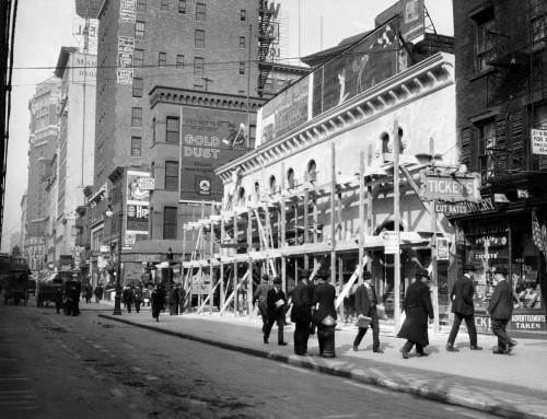 1915 1916 Haymarket Theater Becomes Movie House End Of The Tenderloin 6Th Avenue And 30Th Street New York City Usa Print - Item # VARPPI178535