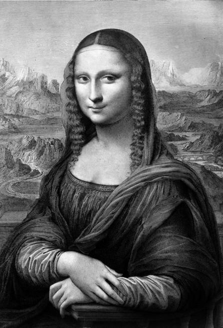 1500s Mona Lisa Painting By Leonardo Da Vinci Circa 1503 Poster Print By Vintage Collection - Item # VARPPI178151
