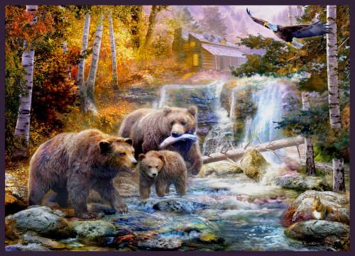 bears in canyon copy.jpg Poster Print by Jan Patrick - Item # VARMGL26481