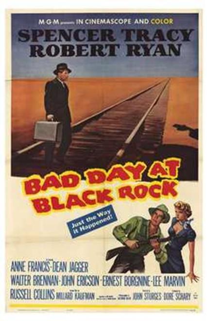 Bad Day At Black Rock Movie Poster (11 x 17) - Item # MOV250284