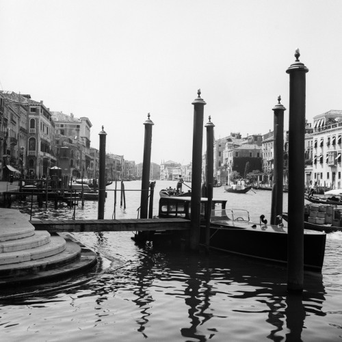 1920s-1930s Venice Italy Gondolas Along Grand Canal Poster Print By Vintage Collection (24 X 24) - Item # PPI179064LARGE