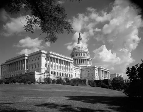 1960s Capitol Building Dome Senate House Representatives Congress Washington Dc Usa Print By Vintage Collection - Item # PPI172439LARGE
