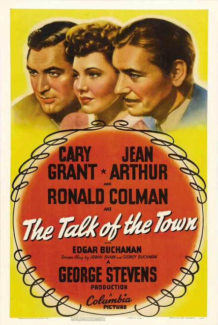 The Talk of the Town Movie Poster Print (27 x 40) - Item # MOVIJ2210