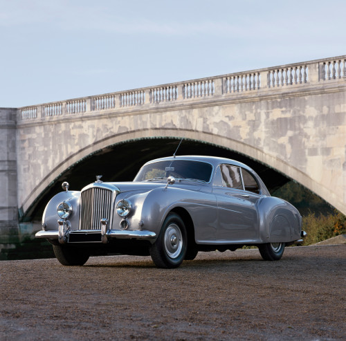 1954 Bentley R-Type Continental, 2-door sports coupe. 5.0 litre, 6-cylinder engine. Country of origin United Kingdom. Poster Print - Item # VARPPI170328