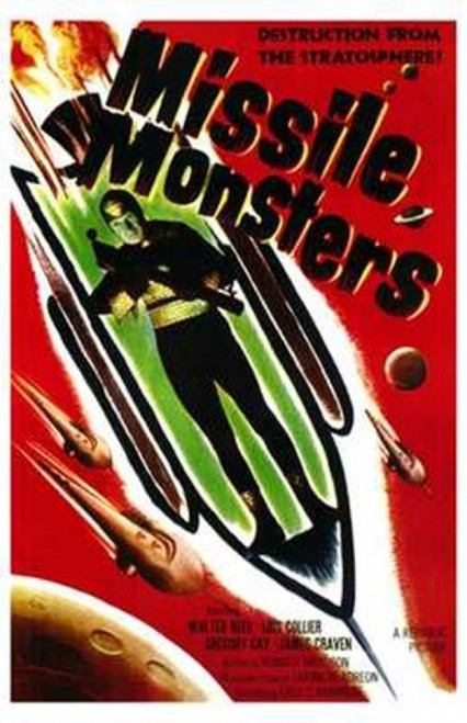 Missile Monsters Movie Poster (11 x 17) - Item # MOV143980