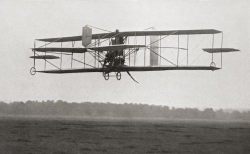 Cody's Biplane In The Air In 1909. Samuel Franklin Cowdery, Later Known As Samuel Franklin Cody, 1867 ? PosterPrint - Item # VARDPI2334473