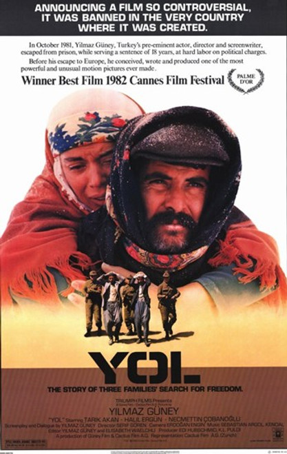 Yol Movie Poster (11 x 17) - Item # MOV233368