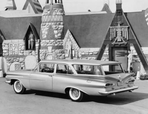 1959 Chevrolet Brookwood Station Wagon Poster Print - Item # VARSAL2558554