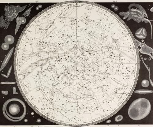 19Th Century Map Of The Southern Heavens. PosterPrint - Item # VARDPI1904413