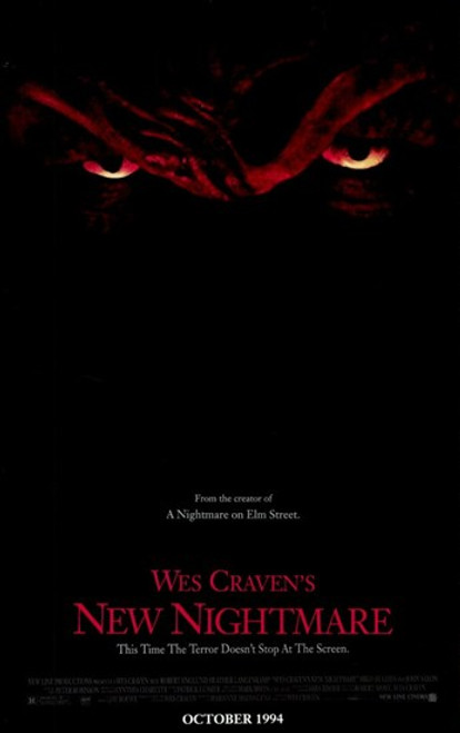 Wes Craven's New Nightmare Movie Poster (11 x 17) - Item # MOV216299