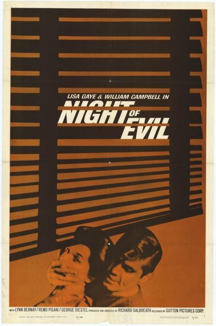 Night of Evil Movie Poster Print (27 x 40) - Item # MOVIH6627