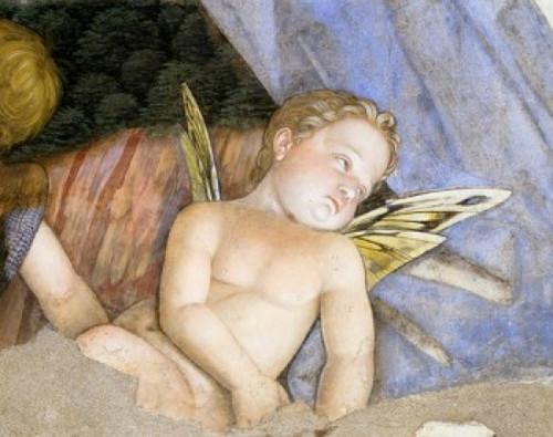 Camera degli Sposi: Putti   1474  Andrea Mantegna   Fresco  Palazzo Ducale  Mantua  Italy Poster Print - Item # VARSAL263328