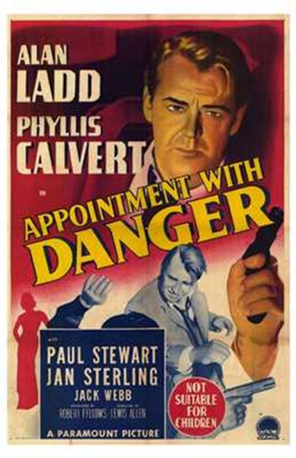 Appointment with Danger Movie Poster (11 x 17) - Item # MOV228294