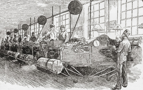 Printing Banknotes In The 19Th Century. From The Strand Magazine Published 1894. PosterPrint - Item # VARDPI2220479