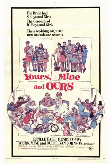 Yours, Mine & Ours Movie Poster Print (27 x 40) - Item # MOVGF9386