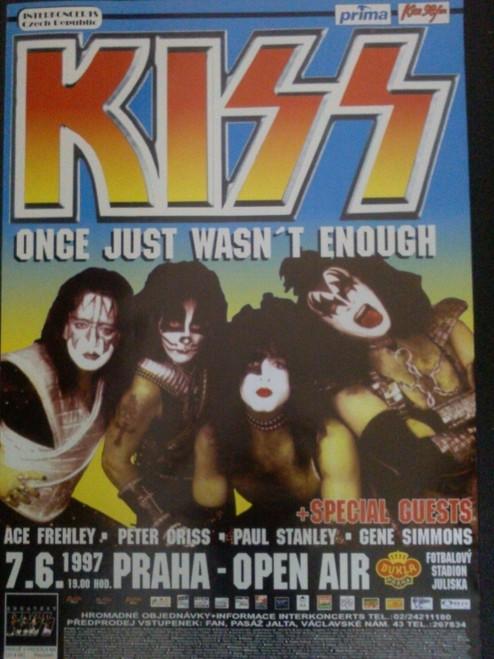 Kiss Once Just Wasn't Enough Poster - Item # RAR99914538
