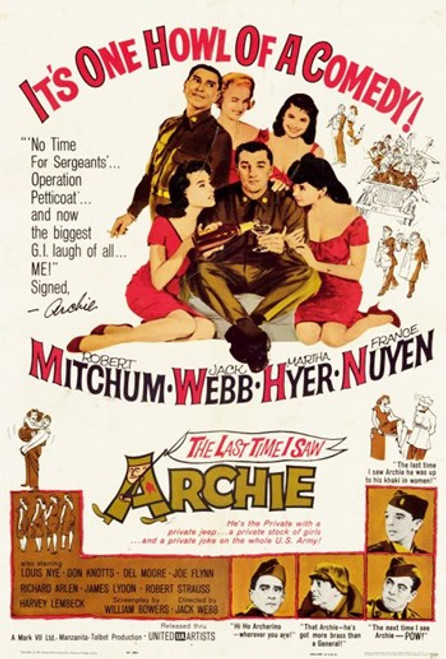 Last Time I Saw Archie Movie Poster (11 x 17) - Item # MOV254181