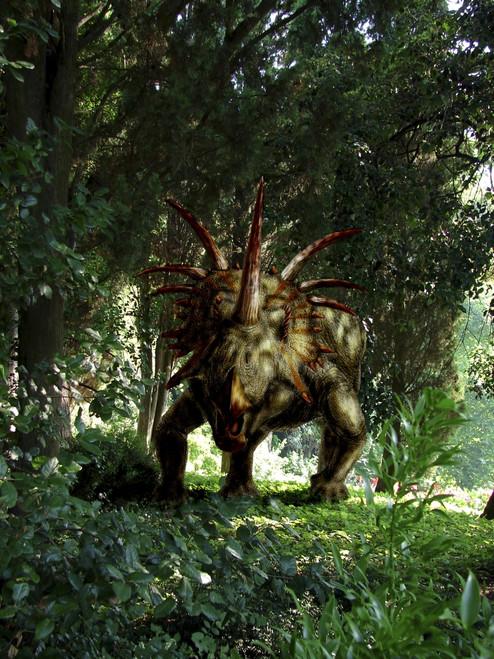 Styracosaurus in a forest Poster Print - Item # VARPSTYPR600013P