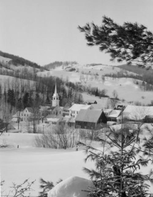 USA  Vermont  East Corinth  Winter view Poster Print - Item # VARSAL255423879