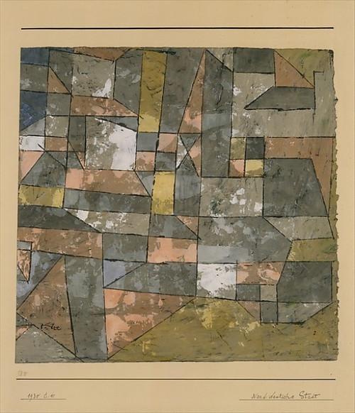 North German City Poster Print by Paul Klee (8 x 10), M�nchenbuchsee 1879_1940 Muralto-Locarno) (8 x 10) - Item # MINMET484868