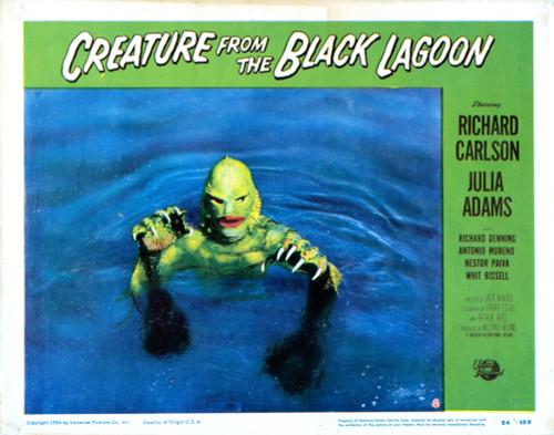 Creature From The Black Lagoon Us Lobbycard 1954 Movie Poster Masterprint (8 x 10) - Item # MINEVCMSDCRFREC009H