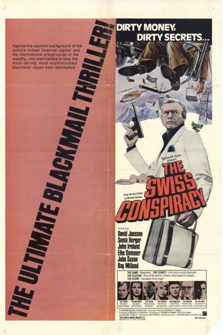 Swiss Conspiracy Movie Poster Print (27 x 40) - Item # MOVEH9703