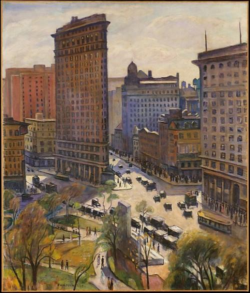 The Flatiron Building Poster Print by Samuel Halpert (8 x 10) (8 x 10) - Item # MINMET482300
