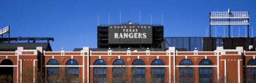 Low angle view of a baseball stadium, Rangers Ballpark, Dallas, Texas, USA Poster Print (8 x 10) - Item # MINPPI149896S