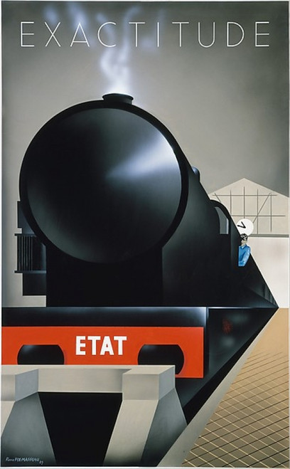 Exactitude Poster Print by Pierre Fix-Masseau (8 x 10) (8 x 10) - Item # MINMET380531