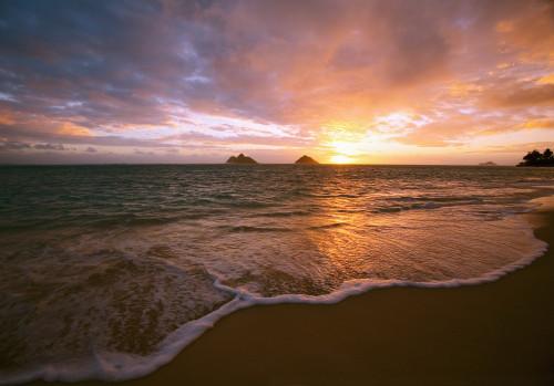 Hawaii, Oahu, Lanikai Beach At Sunrise. Poster Print (8 x 10) - Item # MINDPI1983378