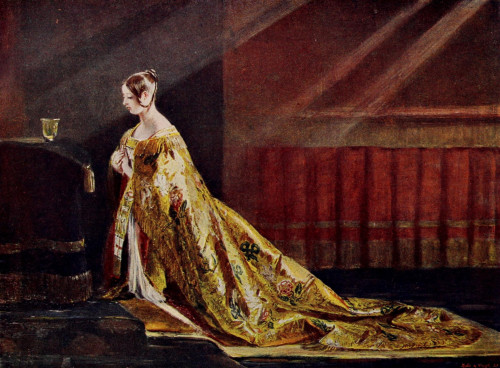 Cassell's History of England 1909 Queen Victoria, coronation robes Poster Print by  Charles Leslie (8 x 10) - Item # MINPPHPDP82351