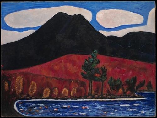 Mt. Katahdin (8 x 10), Autumn #2 Poster Print by Marsden Hartley (8 x 10) (8 x 10) - Item # MINMET486009