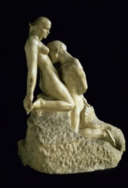 The Eternal Idol , (8 x 10), 1889-1890 , Auguste Rodin (8 x 10) , Musee Rodin, Paris Poster Print (8 x 10) - Item # MINSAL11581286