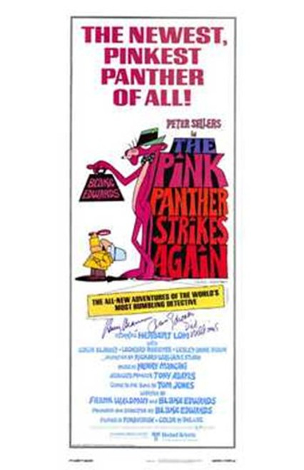 The Pink Panther Strikes Again Movie Poster (11 x 17) - Item # MOV221719