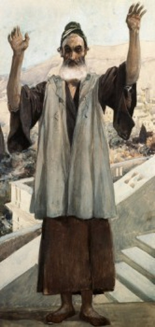 Habakkuk  James Tissot  Jewish Museum  New York  USA Poster Print - Item # VARSAL999369