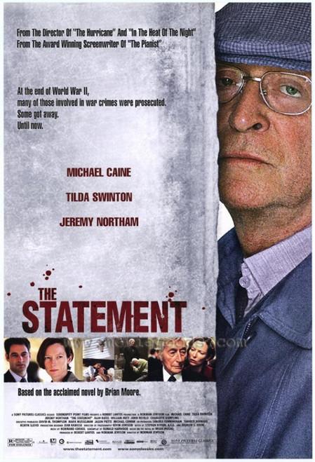The Statement Movie Poster Print (27 x 40) - Item # MOVAF1382