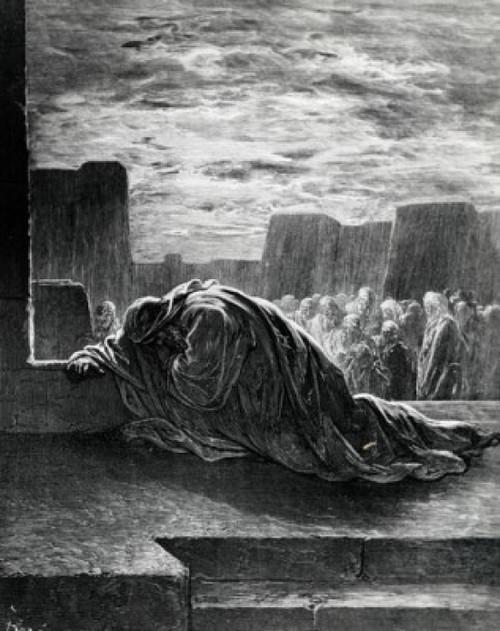 Ezra Praying  Gustave Dore Poster Print - Item # VARSAL995103139