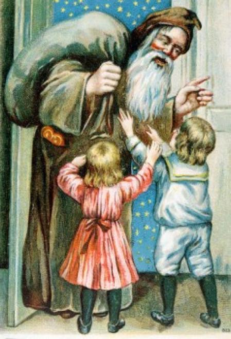 Merry Christmas  Nostalgia Cards Poster Print - Item # VARSAL9801268