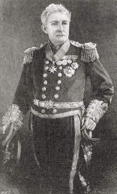 Admiral Sir John Charles Dalrymple-Hay, 3Rd Baronet, 1821 PosterPrint - Item # VARDPI2220827