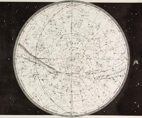 19Th Century Map Of The Northern Heavens. PosterPrint - Item # VARDPI1904412