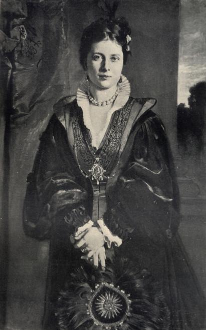 Empress Frederick Victoria Daughter Of Queen Victoria And Mother Of Kaiser Wilhelm Ii, 1840-1901. PosterPrint - Item # VARDPI1860639