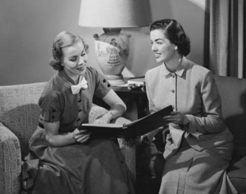 Two businesswomen holding a file Poster Print - Item # VARSAL25528882