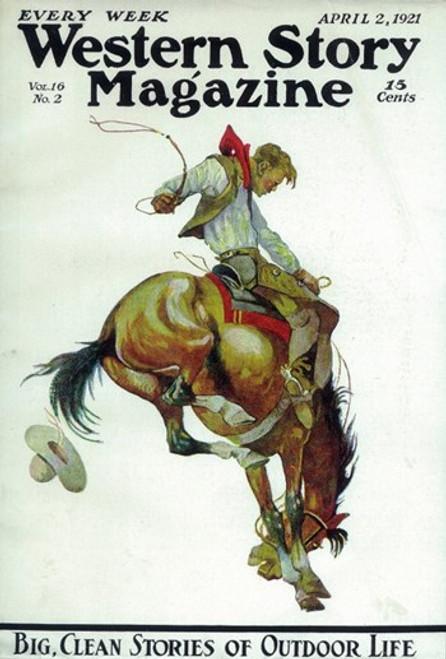 Western Story Magazine (Pulp) Movie Poster (11 x 17) - Item # MOV410314