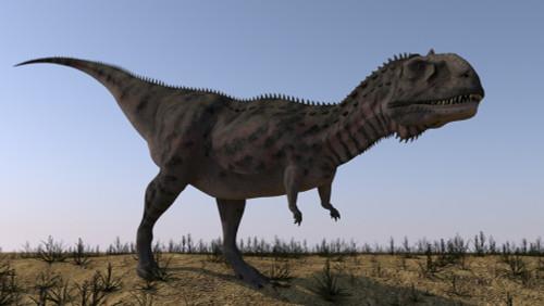 Majungasaurus in a barren environment Poster Print - Item # VARPSTKVA600809P