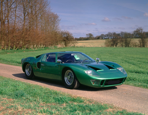 1966 Ford GT40 4.7 litre road competition coupe. The GT-40 is so named due to it's overall height of 40 inches. Country of origin US. Poster Print - Item # VARPPI170406