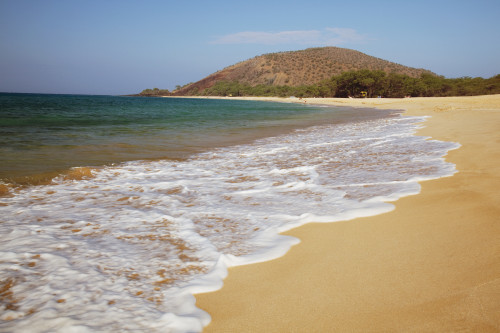 Hawaii, Maui, Makena, Big Beach on a sunny day. PosterPrint - Item # VARDPI2116655