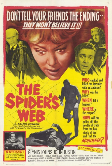 The Spiders Web Movie Poster Print (27 x 40) - Item # MOVCH6194