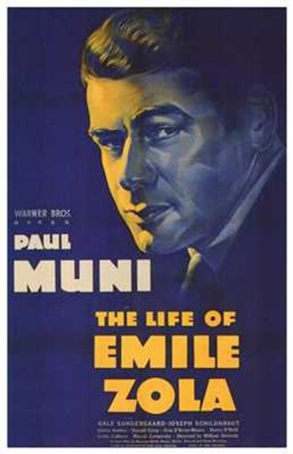 The Life of Emile Zola Movie Poster (11 x 17) - Item # MOV257718