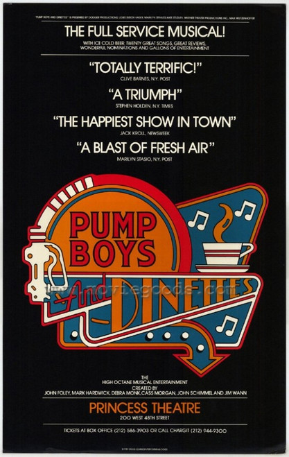 Pump Boys and Dinettes (Broadway) Movie Poster Print (27 x 40) - Item # MOVEH5723